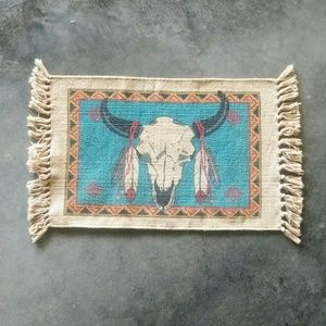 Cow Skull & Feather Tribal Placemat
